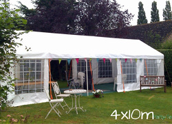 4x10m marquee in Hopton